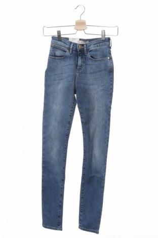 Дамски дънки Wrangler, Размер XXS, Цвят Син, 93% памук, 7% еластан, Цена 73,50лв.