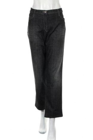 Дамски дънки X & more by BRAX, Размер XL, Цвят Черен, 72% памук, 26% полиестер, 2% еластан, Цена 19,85лв.