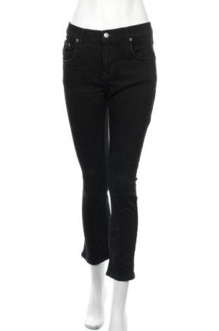Дамски дънки Your Turn, Размер L, Цвят Черен, 98% памук, 2% еластан, Цена 16,75лв.