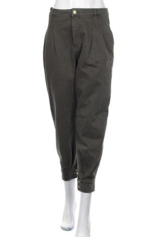 Дамски дънки Zara, Размер M, Цвят Сив, Памук, Цена 20,31лв.