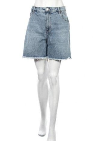 Дамски къс панталон Cotton On, Размер XL, Цвят Син, 99% памук, 1% еластан, Цена 22,54лв.
