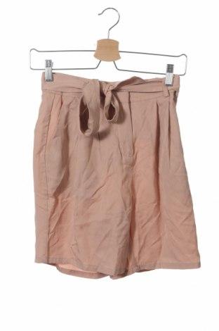 Дамски къс панталон Ichi, Размер XS, Цвят Бежов, Лиосел, Цена 3,00лв.