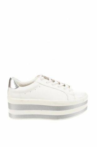 Дамски обувки Lefties, Размер 41, Цвят Бял, Еко кожа, Цена 21,87лв.