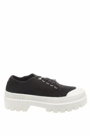 Dámské boty  Pull&Bear, Velikost 37, Barva Černá, Textile , polyurethane, Cena  422,00Kč