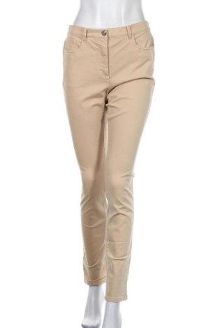 Дамски панталон, Размер M, Цвят Бежов, 57% памук, 28% модал, 12% други нишки, 3% еластан, Цена 6,69лв.