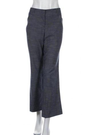 Дамски панталон 7th Avenue, Размер L, Цвят Син, 78% полиестер, 20% вискоза, 2% еластан, Цена 19,53лв.