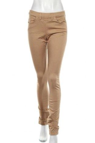 Дамски панталон Acne, Размер M, Цвят Кафяв, 98% памук, 2% еластан, Цена 46,40лв.