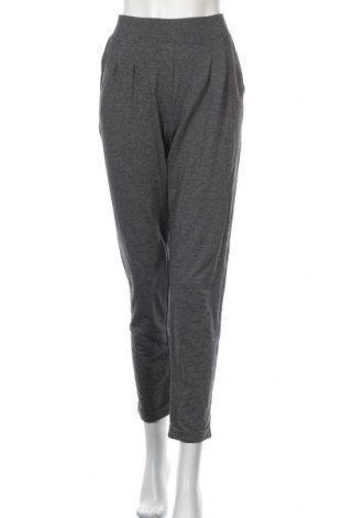 Дамски панталон Active By Tchibo, Размер XL, Цвят Сив, 78% памук, 18% полиестер, 4% еластан, Цена 13,37лв.
