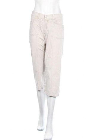 Дамски панталон Angels, Размер S, Цвят Бежов, 96% памук, 4% еластан, Цена 7,35лв.