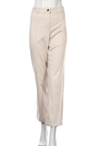 Дамски панталон Blue Illusion, Размер XL, Цвят Бежов, 97% памук, 3% еластан, Цена 7,09лв.