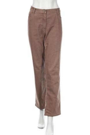 Дамски панталон Brax, Размер XL, Цвят Кафяв, Цена 16,38лв.
