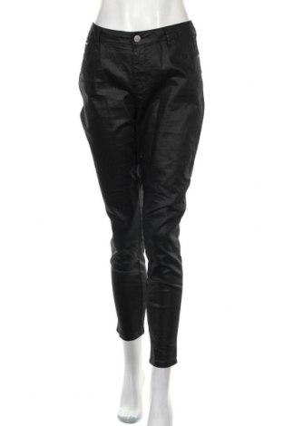 Дамски панталон Clothing & Co, Размер M, Цвят Черен, 66% памук, 32% полиестер, 2% еластан, Цена 7,56лв.