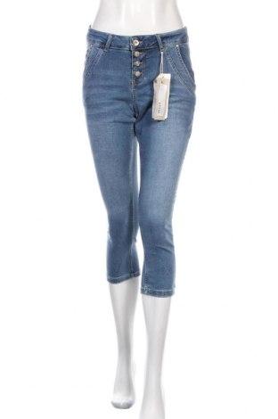 Дамски дънки Cream, Размер M, Цвят Син, 97% памук, 3% еластан, Цена 17,46лв.