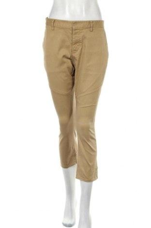 Pantaloni de femei Dsquared2, Mărime L, Culoare Bej, 97% bumbac, 3% elastan, Preț 115,00 Lei