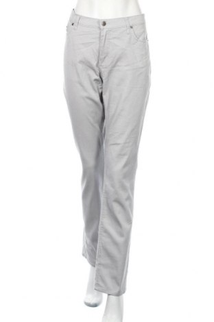 Дамски панталон Estelle, Размер L, Цвят Сив, 98% памук, 2% еластан, Цена 11,57лв.