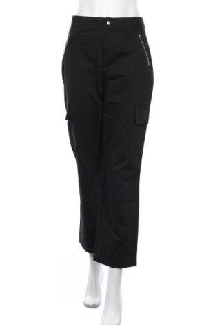 Дамски панталон Even&Odd, Размер M, Цвят Черен, Памук, Цена 12,80лв.