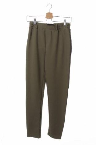 Дамски панталон Free Quent, Размер XS, Цвят Зелен, 95% полиестер, 5% еластан, Цена 7,82лв.