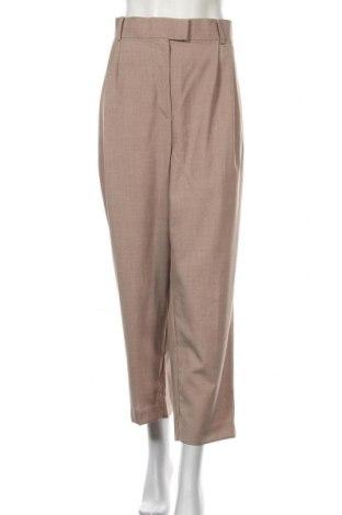 Дамски панталон H&M, Размер XXL, Цвят Бежов, 77% полиестер, 23% вискоза, Цена 14,90лв.