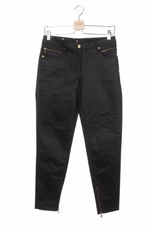 Дамски панталон H&M, Размер S, Цвят Черен, 68% памук, 30% полиестер, 2% еластан, Цена 5,02лв.