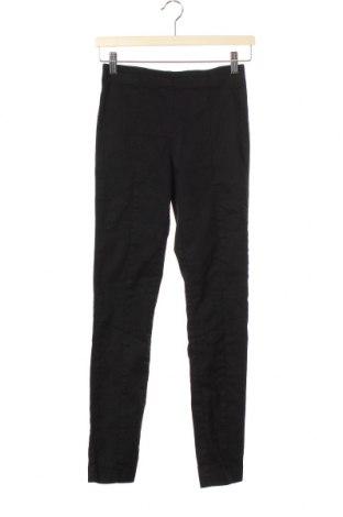 Дамски панталон H&M, Размер S, Цвят Черен, 71% памук, 26% полиестер, 3% еластан, Цена 6,83лв.