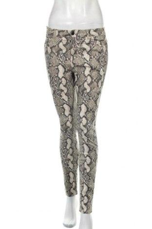 Дамски панталон H&M, Размер M, Цвят Многоцветен, 71% памук, 26% полиестер, 3% еластан, Цена 7,90лв.