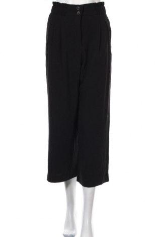 Дамски панталон H&M, Размер M, Цвят Черен, 98% полиестер, 2% еластан, Цена 7,39лв.