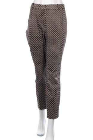 Дамски панталон H&M, Размер XL, Цвят Черен, 61% памук, 36% полиестер, 3% еластан, Цена 13,65лв.