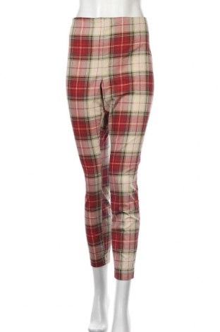 Дамски панталон H&M, Размер XL, Цвят Многоцветен, 71% памук, 26% полиестер, 3% еластан, Цена 10,08лв.