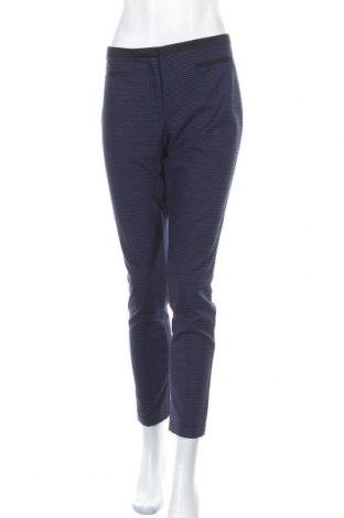 Дамски панталон Hallhuber, Размер L, Цвят Син, 73% полиестер, 25% вискоза, 2% еластан, Цена 23,52лв.