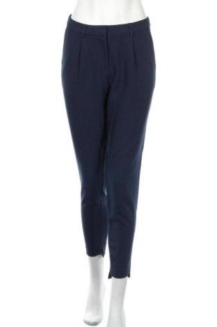 Дамски панталон Ichi, Размер M, Цвят Син, 72% полиестер, 22% вискоза, 6% еластан, Цена 24,75лв.