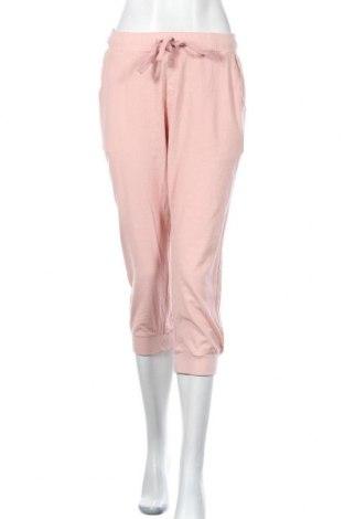 Дамски панталон Kaffe, Размер S, Цвят Розов, Памук, Цена 12,52лв.