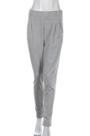 Дамски панталон Kaffe, Размер XL, Цвят Сив, 68% полиестер, 28% вискоза, 4% еластан, Цена 15,39лв.