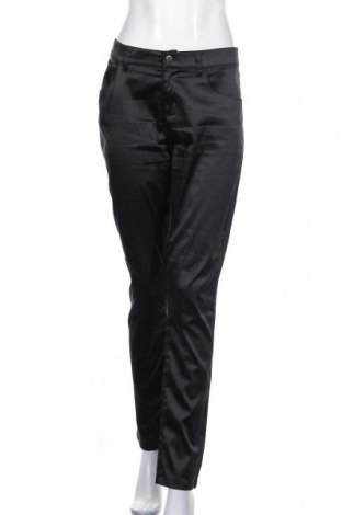 Дамски панталон Mario Conti, Размер XL, Цвят Черен, 65% полиестер, 34% памук, 1% еластан, Цена 20,48лв.