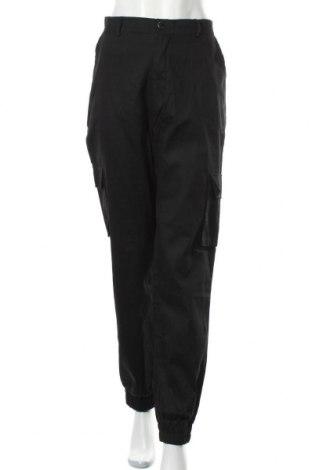 Дамски панталон Missguided, Размер L, Цвят Черен, Памук, Цена 44,25лв.
