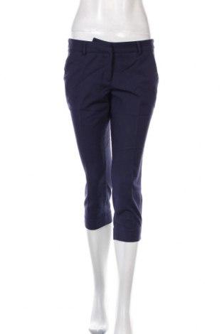 Дамски панталон Mohito, Размер M, Цвят Син, 59% памук, 38% полиестер, 3% еластан, Цена 24,00лв.