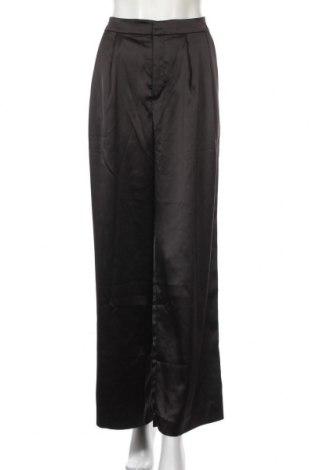 Дамски панталон Monki, Размер L, Цвят Черен, 97% полиестер, 3% еластан, Цена 17,08лв.