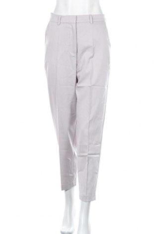 Дамски панталон Na-Kd, Размер S, Цвят Сив, 80% полиестер, 16% вискоза, 4% еластан, Цена 44,25лв.