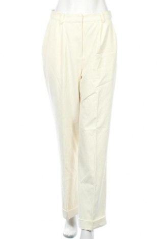 Дамски панталон Na-Kd, Размер M, Цвят Екрю, 65% полиестер, 30% вискоза, 5% еластан, Цена 29,26лв.
