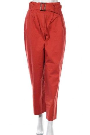 Дамски панталон Object, Размер M, Цвят Червен, Памук, Цена 59,25лв.