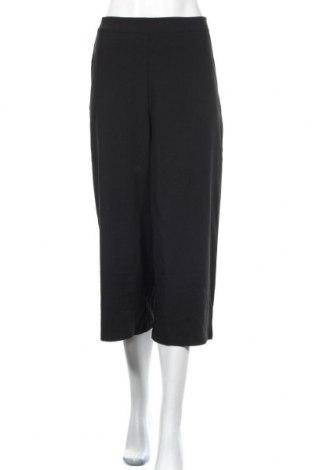 Дамски панталон Object, Размер M, Цвят Черен, 62% полиестер, 33% вискоза, 5% еластан, Цена 16,44лв.
