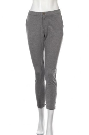 Дамски панталон Part Two, Размер M, Цвят Сив, 66% вискоза, 30% полиамид, 4% еластан, Цена 16,40лв.