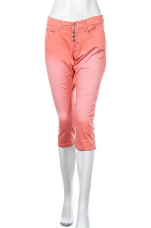 Дамски панталон Q/S by S.Oliver, Размер L, Цвят Розов, 98% памук, 2% еластан, Цена 12,56лв.