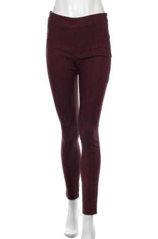 Дамски панталон Rw & Co., Размер M, Цвят Червен, 74% вискоза, 23% полиамид, 3% еластан, Цена 12,76лв.