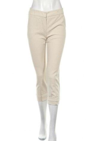 Дамски панталон 'S MAX MARA, Размер XS, Цвят Бежов, Памук, Цена 34,91лв.
