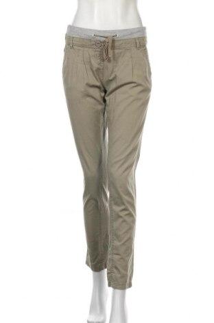 Дамски панталон S.Oliver, Размер S, Цвят Зелен, Памук, Цена 6,83лв.