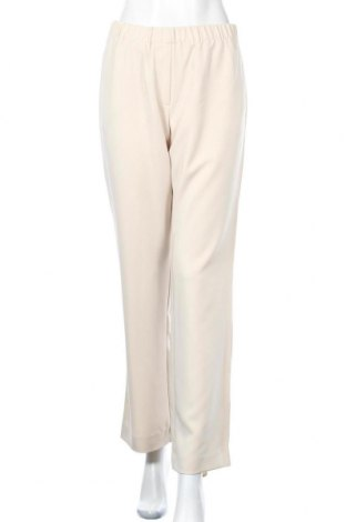 Дамски панталон Samsoe & Samsoe, Размер S, Цвят Бежов, 96% полиестер, 4% еластан, Цена 18,96лв.