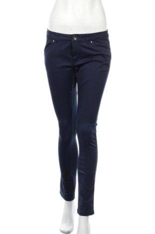 Дамски панталон Sisley, Размер M, Цвят Син, 98% памук, 2% еластан, Цена 15,12лв.