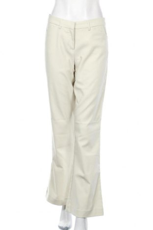 Дамски панталон Steve & Barry's, Размер L, Цвят Екрю, 45% вискоза, 32% полиестер, 20% полиакрил, 3% еластан, Цена 5,77лв.