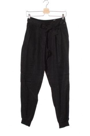 Дамски панталон Tom Tailor, Размер XS, Цвят Черен, Лиосел, Цена 17,25лв.