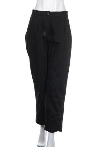 Дамски панталон Weekday, Размер M, Цвят Черен, Памук, Цена 20,60лв.